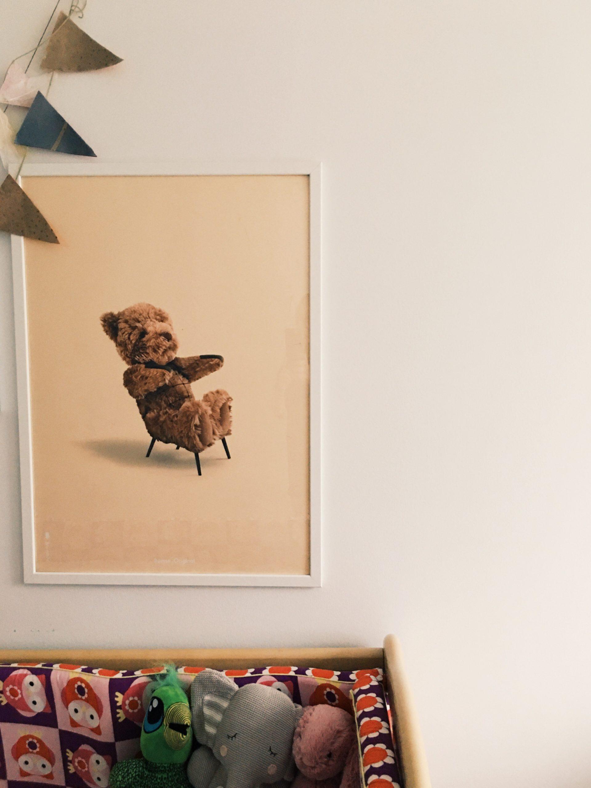 brainchild original plakat bamsen hans wegner