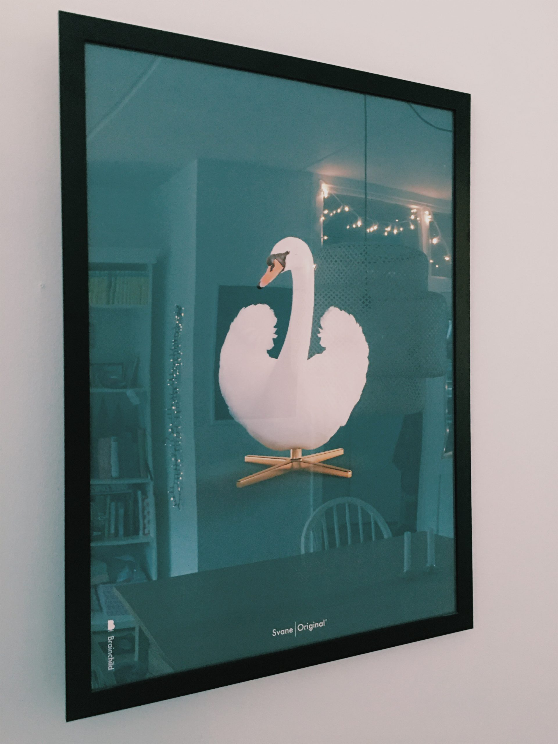 brainchild original plakat svanen arne jacobsen